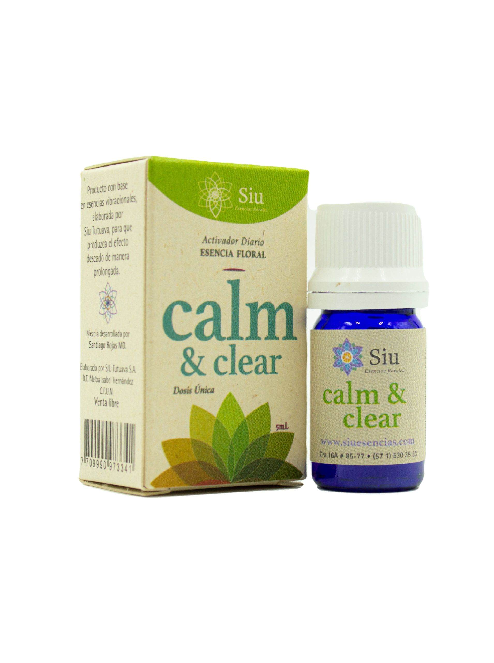 Producto Calm and Clear